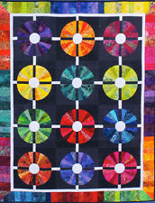 SALE - Piccadilly Circle - modern foundation paper pieced quilt PATTERN