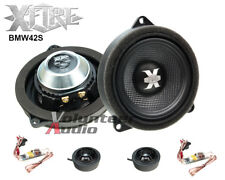 "XFIRE BMW42S 2-Way 4"" BMW And Mini Modified Fit OEM Component Speakers 50W Rms"