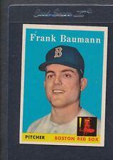 1958 Topps #167 Frank Baumann Red Sox EX/MT *876