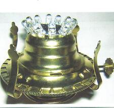 LED REPLACEMENT HEAD KEROSENE OIL LAMP PART #2 BURNER* DIMABLE BATTERY OPERATED