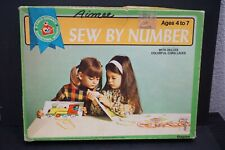 New ListingVintage Children's Guidance Educational Lace-Up Cards Kit Sewing by Numbers