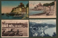 LA SPEZIA - S. TERENZO. Panorama. 4 cartoline viaggiate tra il 1904 e il 1938
