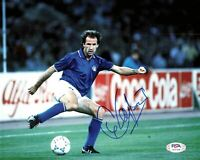 Franco Baresi signed 8x10 photo PSA/DNA Milan Italy Soccer