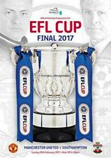 * 2017 EFL LEAGUE CUP FINAL PROGRAMME - SOUTHAMPTON v MAN UTD *
