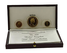 1984 Great Britain Sovereign Gold Proof Set
