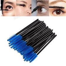 100PCS Disposable Eyelash Brush Spoolers Makeup Brush Mascara Wands Applicator R