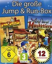 DIE GROSSE JUMP AND RUN BOX * 12 VOLLVERSIONEN TopZustand