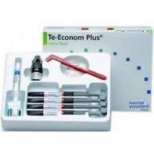 Ivoclar Vivadent TeEconom Plus Dental resin composite kit !!