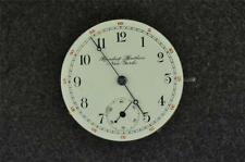 VINTAGE 4 SIZE ILLINOIS PRIVATE LABEL POCKET WATCH MOVEMENT GRADE 134-S