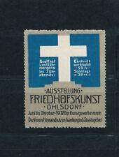 Vignette Ausstellung Friedhofskunst 1912 Ohlsdorf   (V9)