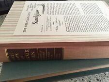 THREE PLAYS OF HENRIK IBSEN Heritage Press In Slipcase w/ Sandglass