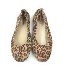 Mossimo Womens Flats Size 7.5 Brown Cheeta Print Ballet