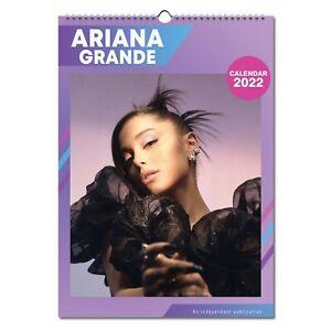 Ariana Grande 2022 Wall Calendar NEW A3 Poster Size 12 Months Pretty Woman