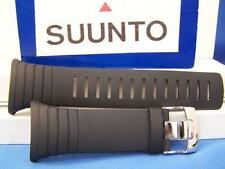 Suunto Watch Band Core Black. Original Two-Piece Strap Resin. w/Attaching T-Bars