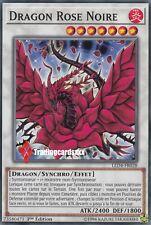 ♦Yu-Gi-Oh!♦ Dragon Rose Noire (Black) : LED4-FR028 -VF/Commune-