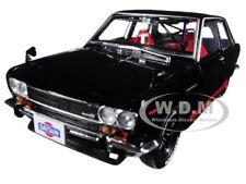 "1970 DATSUN 510 BLACK ""AUTO-JAPAN"" 1/24 DIECAST MODEL CAR BY M2 40300-JPN01-A"