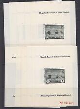 "Belgie 1942 Muziekkapel  VAR ""vlag"" PR45-V2 blok 10x ** mnh (A934)"