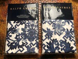 NIP Ralph Lauren Archival Collection Dorsey Standard Pillow Shams Pair