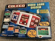 COLECO Video Game System - 6 Built-In Games. Direct to TV Play. NEW.