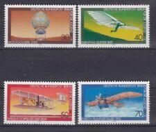 Echte Briefmarken mit Luftfahrt-Motiven aus Berlin