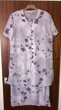 Jaques Vert Size 20 Purple Dress And Jacket Wedding outfit, Summer Occasion