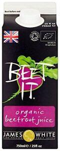 Beet-it Organic Beetroot Juice - 750ml (Pack of 6)