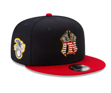 New Era New York Yankees 4th Of July American Flag Navy Blue 9Fifty Snapback Hat