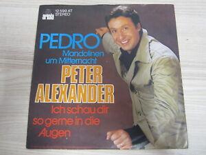Single /  Peter Alexander – Pedro (Mandolinen Um Mitternacht) / AUT PRESS /