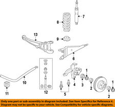 FORD OEM E-150 Econoline Club Wagon Front Suspension-Radius Arm XC2Z3A360AA