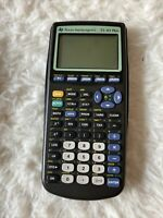 Texas Instruments TI-83 Plus Graphing Calculator with Cover For Parts or Repair