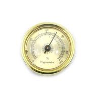 45mm Thermometer Cigar Hygrometer Monitor Meter Gauge Humidity Measuring ToolsGX