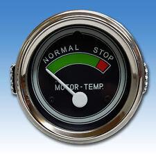 Traktor oder LKW Fernthermometer Ø 60 mm elektrisch 12 Volt für Oldtimer 03