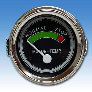 Temperaturanzeige Deutz Fernthermometer luftgekühlt 215 Traktor Schlepper