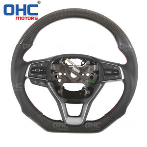 Real Carbon Fiber STEERING WHEEL for Honda ACCORD 2018