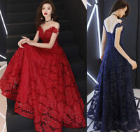 NEW Evening Formal Party Ball Gown Prom Bridesmaid Sequins Hosting Long Dress