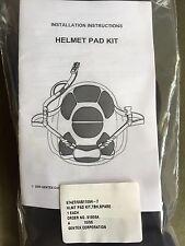 Original Gentex Ballistic Helmet (TBH-II ) - Helmet Pad Kit Replacement Set.