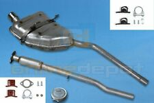 Full exhaust system MINI COOPER 1.6 16V Cabrio Hatchback + mounting kit