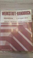 verschiedene Werkstatthandbücher Honda PKW