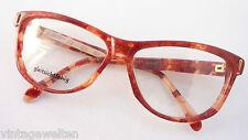 Joop Brillenfassung extragroße Schmetterlingsbrille rotbraun marmoriert size M