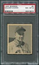 1948 Bowman Baseball #9 Walker Cooper Rookie PSA 8 (NM-MT)