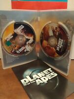 PLANET OF THE APES Wahlberg Tim Burton Roth  EDIZIONE SPECIALE FOX 2 DVD --2145