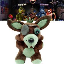 "Fnaf Sanshee Plushie Five Nights at Freddy's Toy 6"" Plush Green Foxy Toys Kids *"