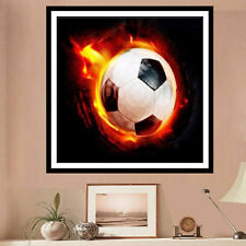 UK DIY 5D Football Diamond Painting Embroidery Cross Stitch Crafts Home Decor