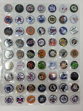 Pathtags Geocaching Lot of 63 Mixed Lot College Football MLB Baseball NFL & More