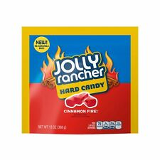 JOLLY RANCHER 13 oz Bag CINNAMON FIRE Hard Candy/Candies FLAVORED Exp. 5/19 NEW!