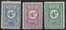 SAUDI ARABIA 1929 HEJAZ NEJD SET COMPLETE SG 302-4 HINGED CATALOG VALUE £200