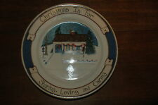 ASSIETTE DECO CHRISTMAS NOEL COLLECTOR CARRIAGE HOUSE DESIGNS LOVING