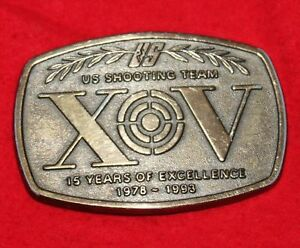 US Shooting Team 1993  Belt Buckle