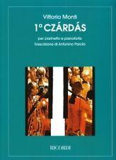 MONTI CZARDAS CLARINET & PIANO
