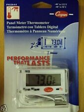 NEW Cooper-Atkins PM120 Mini-Rectangular Panel Meter Thermometer Digital -40 120